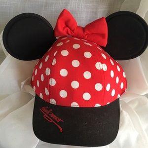 Authentic Minnie Mouse cap